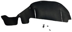 1982-93 Chevy S10 & GMC Sonoma Inner Fender Splash Seal, Left