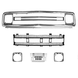 1969- 1970 Chevy C10 Truck Grille Assembly Kit - Chevy Truck