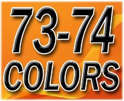 1973-74 Fullsize Chevy & GMC Truck Interior Vinyl & Plastic Dye Original Colors