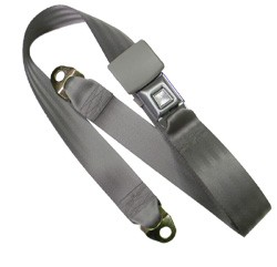 1981-87 Fullsize Chevy & GMC Truck Non-Retractable Lap Seat Belt Original Colors