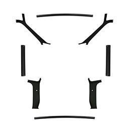 1981-87 Fullsize Chevy & GMC Truck Headliner Molding Kit