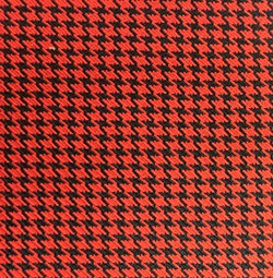 1960-72 Chevy & GMC Fullsize Truck Interior Color Sample, Houndstooth, Bright Red