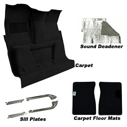 1981-87 Fullsize Chevy & GMC Truck Carpet, Floor Mats, Sill Plates, Sound Deadener Kit