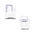 1981-87 Fullsize Chevy & GMC Truck Window Felt & Window Channel Kit