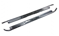1967-72 Chevy Truck Chrome Door Sill Plates with Bowtie, Pair