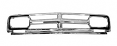 1968-70 GMC Truck Chrome Grille Frame with Black Accent