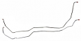 1981-87 Chevy & GMC Truck 4WD, T-400 Transmission Cooler Lines