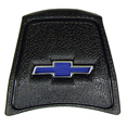 "1969-72 Chevy Truck Black Horn Cap, Black w/ Blue ""Bowtie"" Logo"