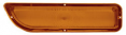 1962-66 GMC Truck Amber Parklight Lens, Left