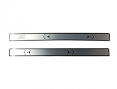 1981-87 Fullsize Chevy & GMC Truck Original Style Aluminum Door Panel Inserts, Pair (accepts door panel pull strap)