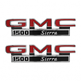 1971-72 GMC Truck Fender Side Emblems, 1500 Sierra