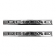 1971-1972 Chevy & GMC Truck Fender Side Emblems, Deluxe