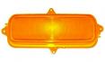 1960-66 CHEVY Truck Parking Light Lens, Amber, Each