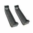 1967-72 Chevy & GMC Truck Radiator Mount Pads, Upper or Lower, 4 Core Radiator; 3 or 4 Core w/AC; 4x4 Truck, Pair