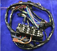 1969-72 Chevy & GMC Truck Blazer and Pickup Dash Harness With factory Gauges