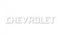 "1954-87 Chevy Truck Stepside Tailgate Letters, ""Chevrolet"" White"