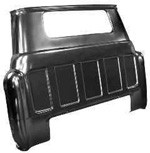 1955-59 Chevy & GMC Truck Rear Outer Cab Panel with Small Window