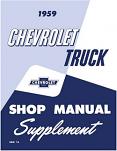 1959 Chevy Truck Shop Manual Supplement