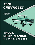 1961 Chevy Truck Shop Manual Supplement