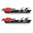 1962 CHEVY Truck 10 Fender Side Emblems, Pair