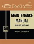 1962 GMC Truck Maintenance Manual