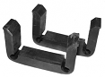 1963-66 Chevy & GMC Lower Radiator Mounting Pads, 6 cyl & V8, Pair