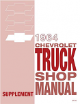 1964 Chevy Truck Shop Manual Supplement