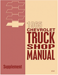 1965 Chevy Truck Shop Manual Supplement