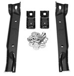 1967-70 Chevy & GMC Truck Front Bumper Brackets, 4WD