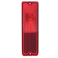 1967-72 Chevy & GMC Suburban Tail Light Lens, Red (Each)