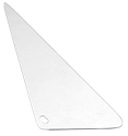 1967-72 Fullsize Chevy & GMC Vent Window Glass Right, Clear