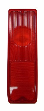 1967-72 Chevy & GMC Truck Fleetside Red Tail Light Lens, Each