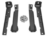 1967-72 Chevy & GMC Shortbed Truck Rear Bumper Bracket Set, Leaf Spring