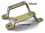 "1967-72 Chevy & GMC Sway Bar ""Stand Off"" Frame Brackets, Pair"