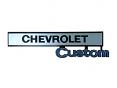 1969-72 CHEVY Truck Custom Glove Box Door Emblem