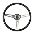 1969-72 Chevy & GMC Truck 3 Spoke Black Steering Wheel