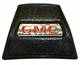 1969-72 GMC Truck Black Horn Cap with Red GMC logo