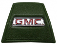 1969-72 GMC Truck Green Horn Cap with Red GMC logo