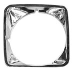 1969-72 CHEVY Truck Chrome Headlight Bezel Left