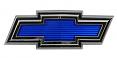 1971-72 CHEVY Truck Blue Bowtie Grille Emblem