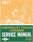 1971 Chevy Truck Chassis Service Manual