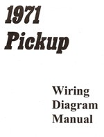 1971 Chevy & GMC Truck Wiring Diagram