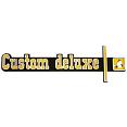 1973-74 Chevy Truck CUSTOM DELUXE Dash Emblem