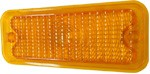 1973-74 Fullsize Chevy & GMC Truck Parking Light Lens, Amber Diffused, Left