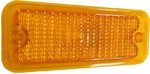 1973-74 Fullsize Chevy & GMC Truck Parking Light Lens, Amber Diffused, Right