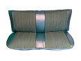1973-80 Fullsize Chevy & GMC Truck Front Vinyl & Cloth Bench Seat Cover 2nd Design, Original Colors