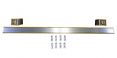 1973-80 Fullsize Chevy Truck Back Cab Molding Kit, with Camper Special Emblems, Yellow Stripe
