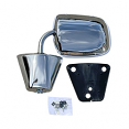 1973-87 Fullsize Chevy & GMC Truck Large Style Outside Rearview Mirror, Chrome