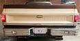 1973-87 Fullsize Chevy & GMC Fleetside Truck Rear Step Bumper With Rectangle Reverse Lights, Chrome