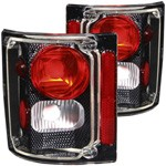 1973-87 Fullsize Chevy & GMC Fleetside Truck Custom Carbon Fiber Tail Lights, Pair